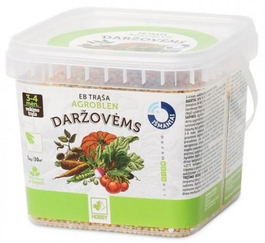 Agroblen trąša daržovėms - ilgo veikimo NPK 13-13-13+3MgO 1kg*