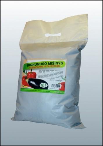 Biohumuso mišinys pomidorams ir paprikoms 10L P