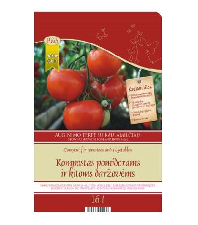 Kompostas pomidorams ir daržovėms 16L AS