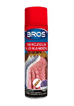 Bros New aerozolis nuo kandžių 150ml