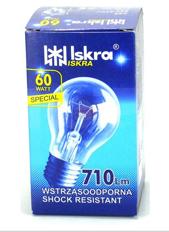 Elektros lemputė 230V 60W E27 Iskra