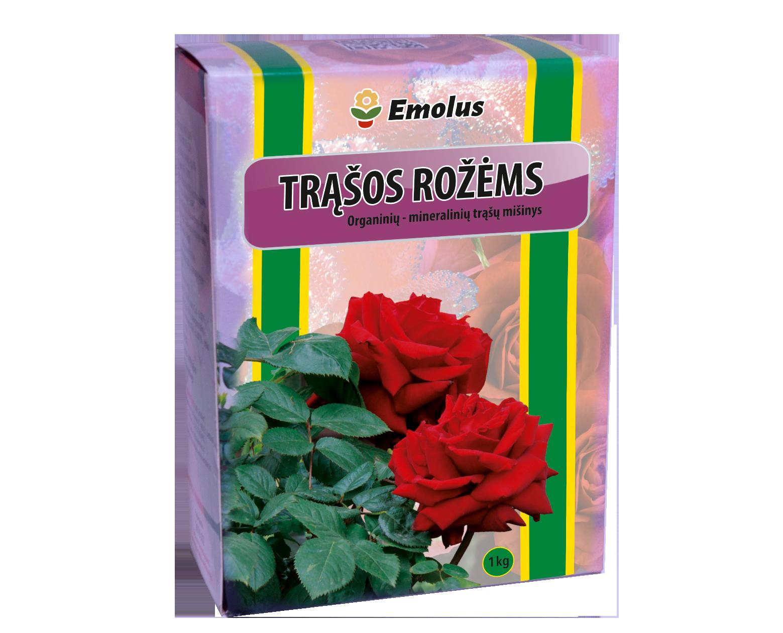 Rožėms organinių, mineralinių trąšų mišinys 1kg