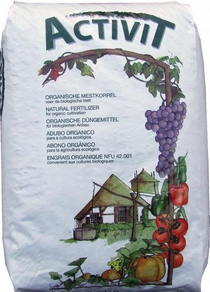 Organinės granuliuotos ekologiškos trąšos Activit 25kg