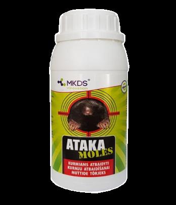 Nuo kurmių repelentas Ataka Moles 500ml (12)