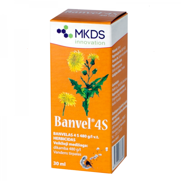 Banvel herbicidas 30ml M