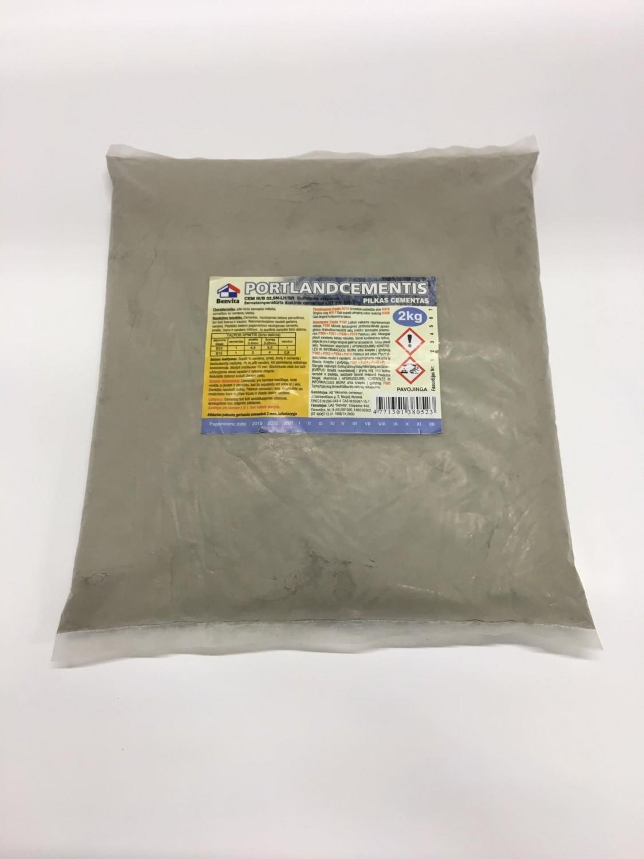 Cementas pilkas 2kg