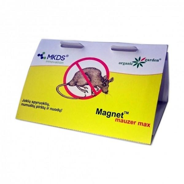 Pelėms ir žiurkėms lipni gaudyklė Magnet Mauzer Max(10)