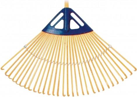 Grėblys vėduoklinis bambukinis (TR9A)