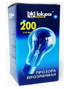 Elektros lemputė 240V 200W E27 Iskra