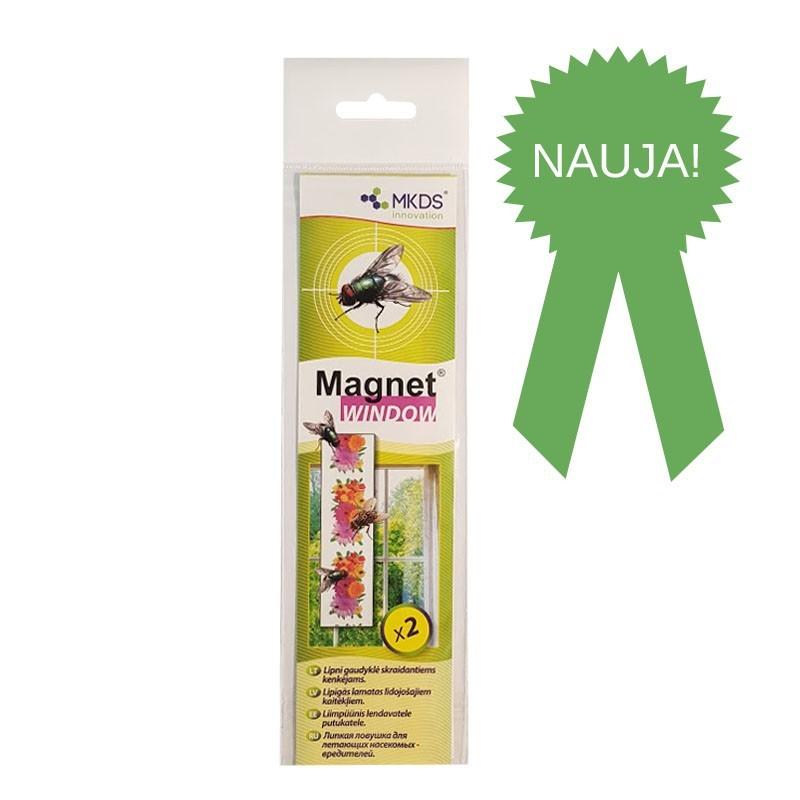 Musgaudis lipnus Magnet Window 2vnt(40)