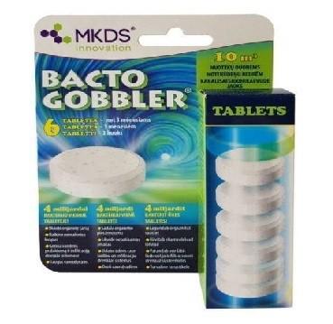 Bakterijos biologinės nuotekoms tabletės Bacto Gobbler (6 vnt)