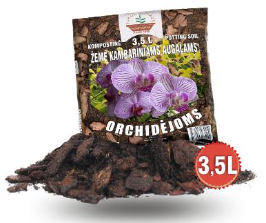 Orchidėjoms žemė 3.5L