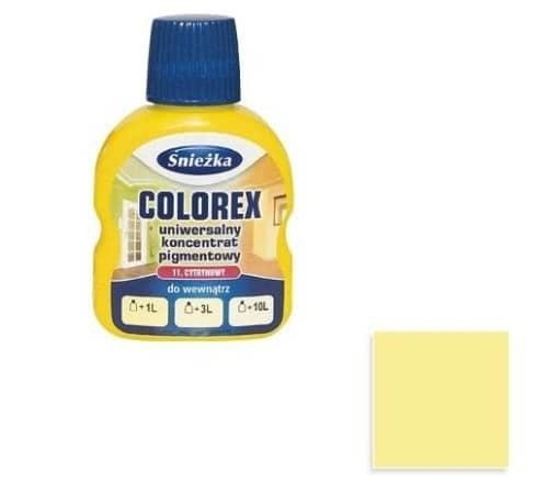 Pigmentas Colorex Sniežka 100ml Nr.11 (citrininis)