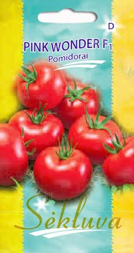 Pomidorai Pink Wonder (D grupė)