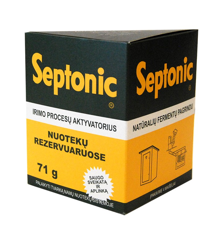 Fermentas nuotekoms valyti Septonic (4vnt)