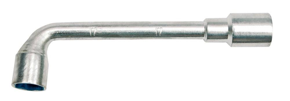 Lenktas L formos dvipusis raktas Vorel 13mm