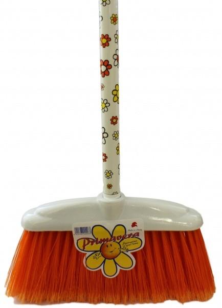 Šepetys su kotu Gėlė 120cm
